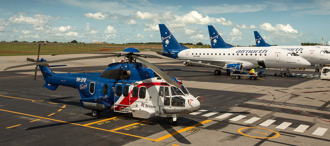 Bristow Helicopter & Airnorth E170